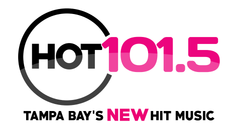 HOT 101.5 - Tampa Bay's NEW Hit Music Logo
